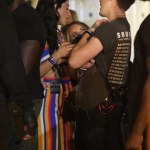 Brooklyn Beckham,19 and girlfriend,Lexy Panterra, 29, at Wireless Festival in London