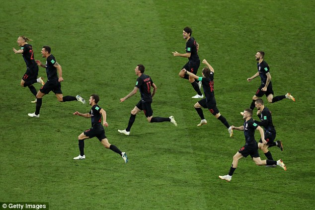 Croatia overcame Russia on penalties but the controversial posts distracted from their win