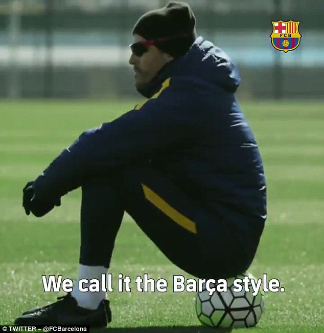 'A special and appealing understanding of the game rests upon me... we call it the Barca style'