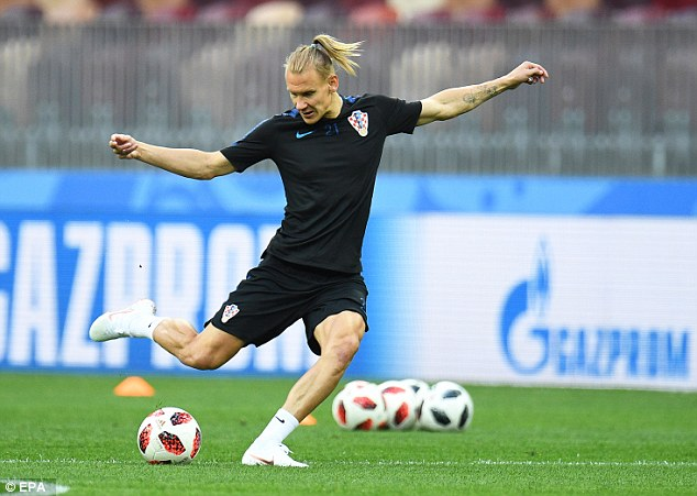 Centre half Domagoj Vida could be drafted in at right back and struggles against pace