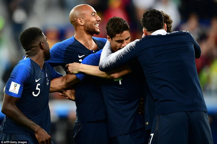 Les Bleus lie in wait for either England or Croatia and will be formidable opposition for either team