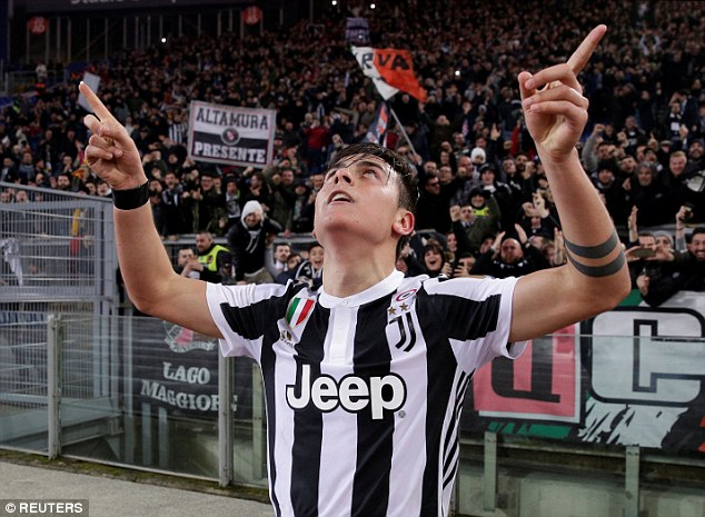 Ronaldo's arrival should free up space for Paulo Dybala to exploit with his high-speed dribbling