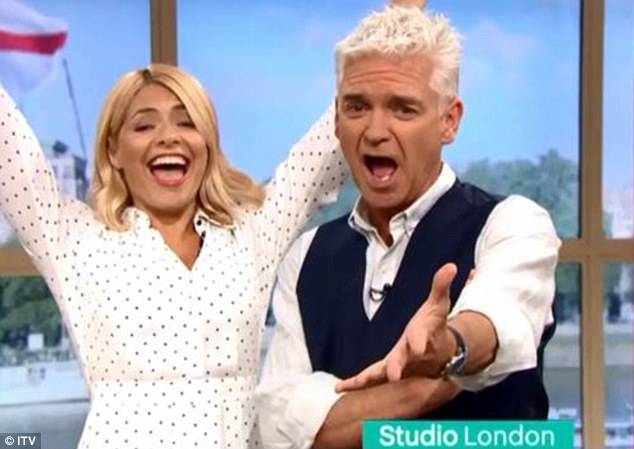 What a result!Holly Willougby and Phillip Schofield have recruited the talents of a pig to predict the match result ahead of Wednesday night's World Cup semi-final
