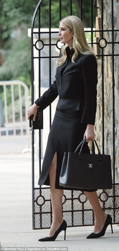Ivanka, who initially got home at 6.30pm, avoided the drama by stepping out at 7.15pm