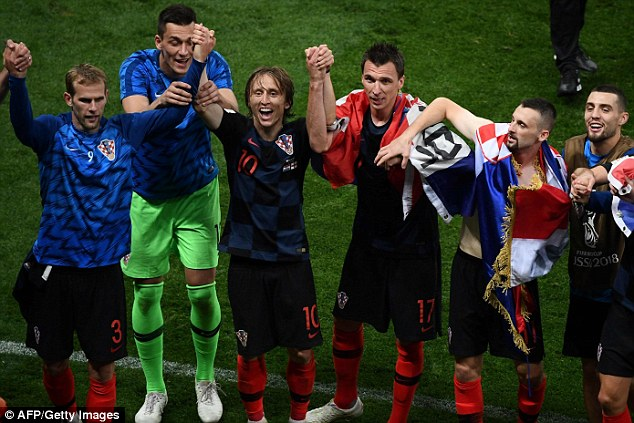 Modric claimed it was a 'huge mistake' that English media 'underestimated Croatia'