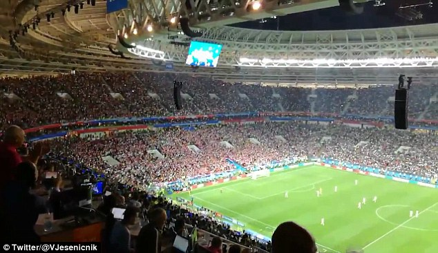 England players tried to catch Croatia off guard during Wednesday's semi-final in Moscow