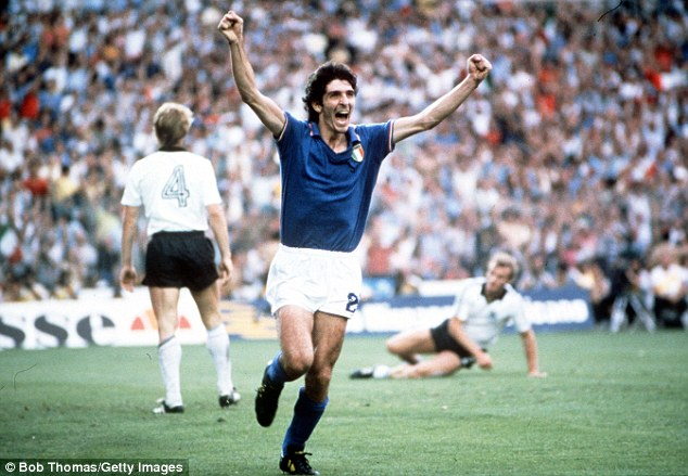 Paolo Rossi is the only player to win that award and the Ballon d'Or in the same year since 1982