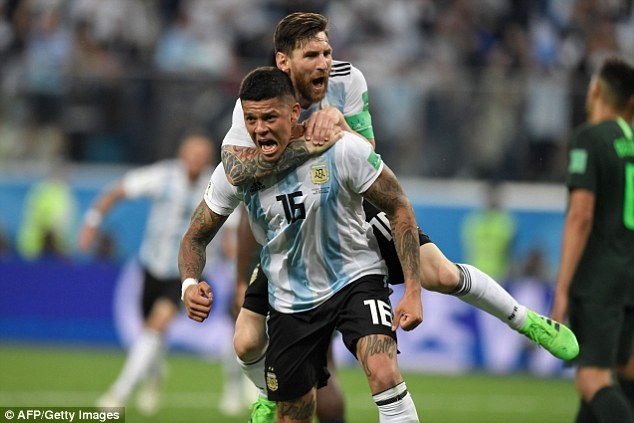 Rojo was a national hero when his winner against Nigeria sent Argentina through to round of 16