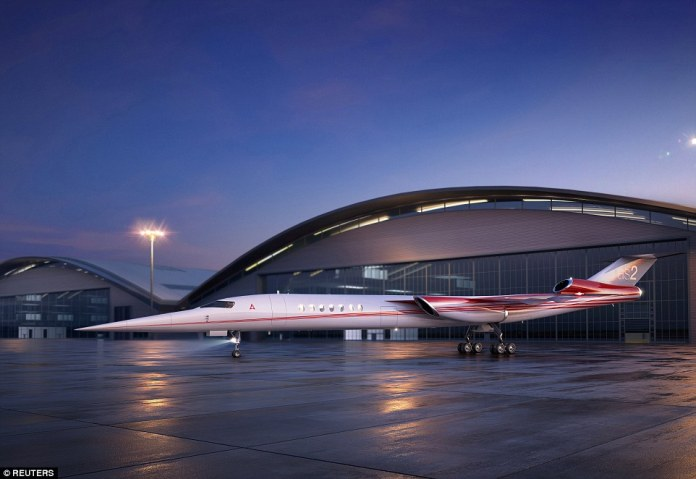 Fifteen years after Concorde's last flight, U.S. regulators are weighing rule changes to allow testing of early-stage supersonic jets, amid plans for American-made business and small passenger jets due in service by the mid-2020s. Pictured, the Aerion AS2, the world's first supersonic business jet, being developed by Lockheed Martin Corp partnering with plane maker Aerion Corp of Reno