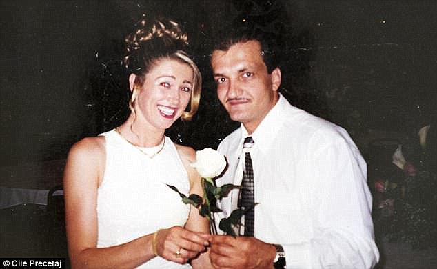 Cile (left) arrived to the U.S. in 2000 and contacted immigration authorities within months of claiming asylum. While her case was considered, she met her now-husband Pete Gojcaj (right) and they had their first child in 2002