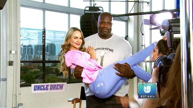 O'Neal appeared on the show to promote his new film Uncle Drew