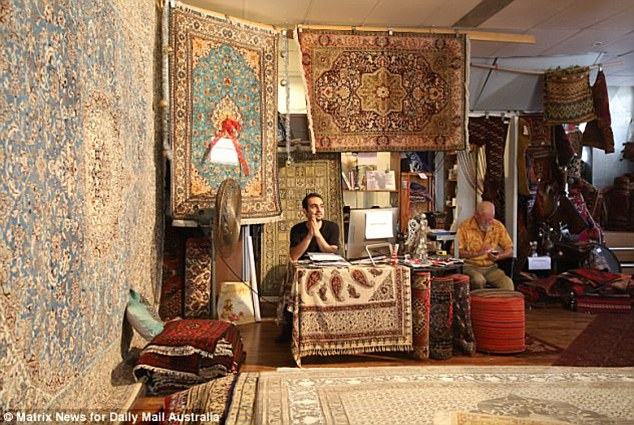 Empress Rugs Warehouse in Victoria Road, Rozelle, is probably closing down, permanently