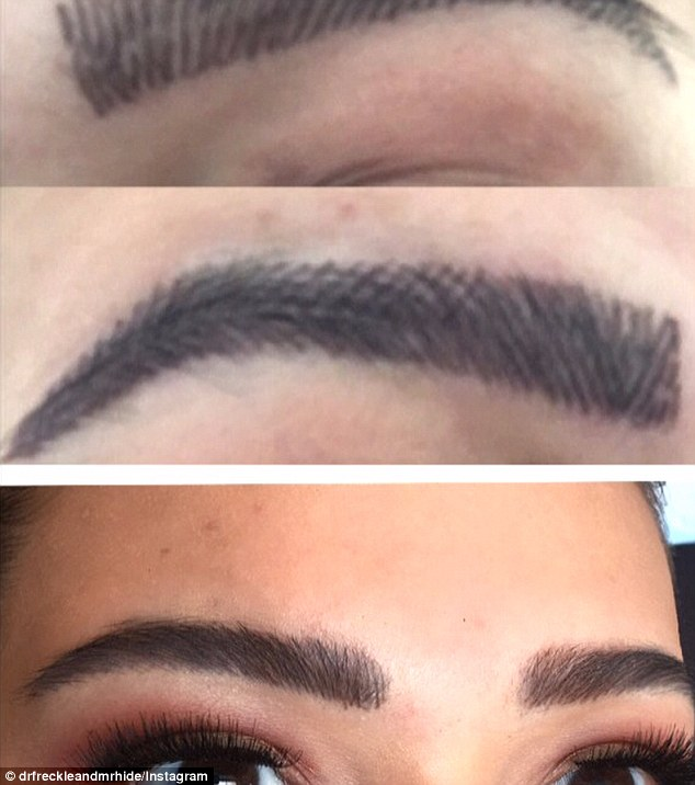 Another four rounds of adding brow strokes and dimension and Gordana had all but rectified the situation