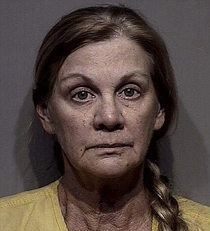 Lori Isenberg, pictured in her February mugshot, is wanted in Kootenai County, Idaho