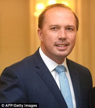 Immigration Minister Peter Dutton (pictured) said the Government has restored integrity to Australia's border