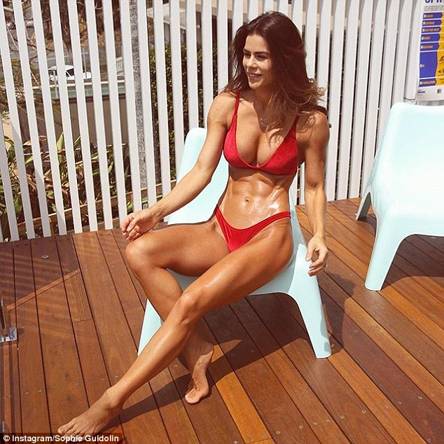 'It wasn't a straight-forward path to the competitive stage,' the Queensland-based fitness star admitted, saying she suffered from 'gymtimidation' at first