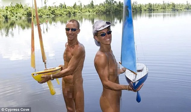 Cypress Lakes in Florida, a nudist resort, is hosting an 'open house' on Saturday for prospective members and residents