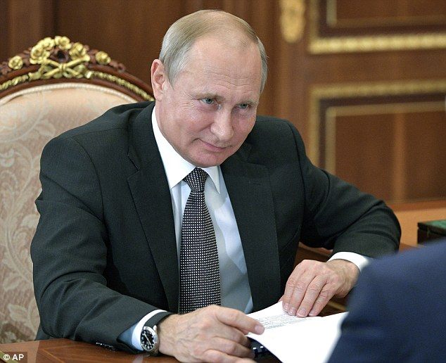 Russian President Vladimir Putin is a former colonel in the KGB; he is scheduled to meet with U.S. President Donald Trump on Monday in Finland
