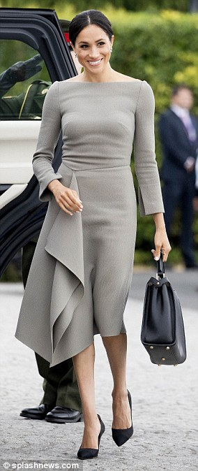 For her first royal tour ¿ a whistle-stop visit to Dublin ¿ Meghan pulled out all the stops