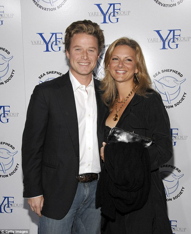Over: Sydney Davis filed legal documents to end her 20-year marriage to Billy Bush, citing irreconcilable differences; seen in 2008