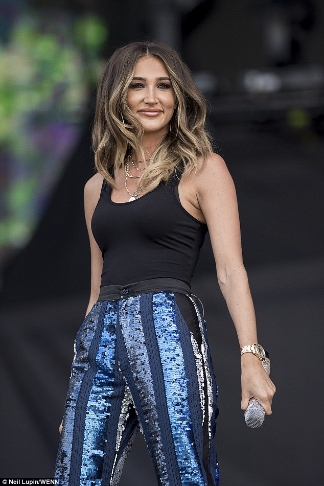 Style; Megan Mckenna was the supporting act for Michael on the night