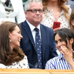 Kate Middleton and Meghan Markle spotted without their husbands at Wimbledon final
