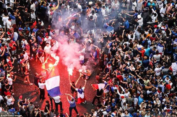 France's 4-2 win over Croatia in the World Cup final marks the second time in 20 years France has won the World Cup