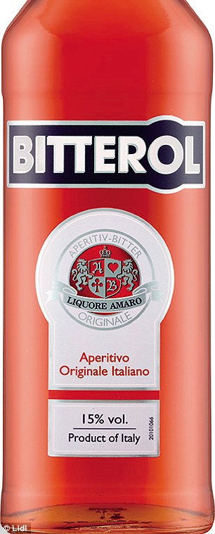 lidl fishing chair ferrari office beats waitrose to win best supermarket buy gin and spirits also sells a discount version of aperol for 7 99 called bitterol