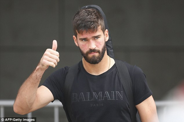 Liverpool After over £ 67.5m, Goalkeeper Alisson will have to break away from FC Roma.