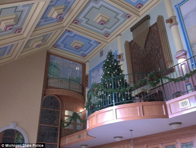 Dozens of bundles of cash totaling $63,392 were tucked behind ceiling tiles in Wehrle's home