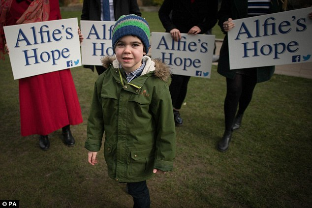 Another British boy with epilepsy was given cannabis oil treatment after the landmark Home Office ruling on 12-year-old Billy Caldwell's case. Alfie Dingley (pictured), six, suffers from a rare form of the disease that can cause up to 30 seizures a day