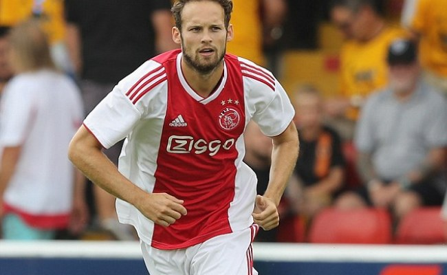 Daley Blind Makes Second Ajax Debut In Pre Season Friendly
