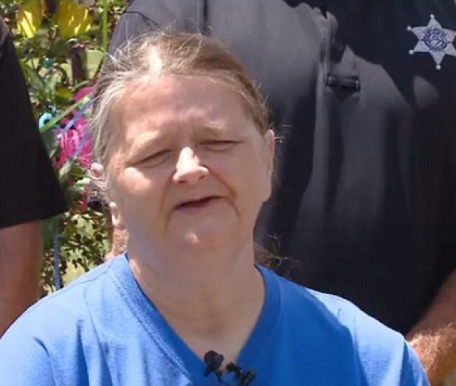 Janet Tinsley The Mother Of Murdered April Tinsley Sat In The Front Row Of
