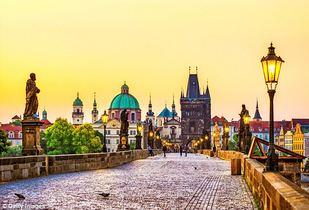 Unmissable: The beautiful Charles Bridge is one of the most visited sights in Prague