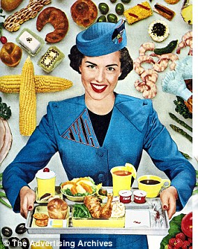 Stock photo above of a flight attendant