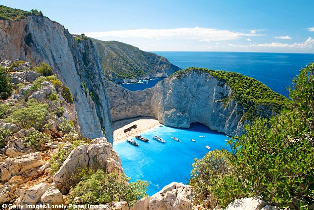 Paradise for pirates: Stunning Smugglers Cove in Zante