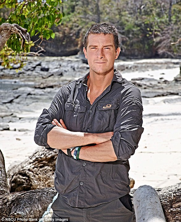 Bear Grylls pictured above said his favourite holiday destination is Wales