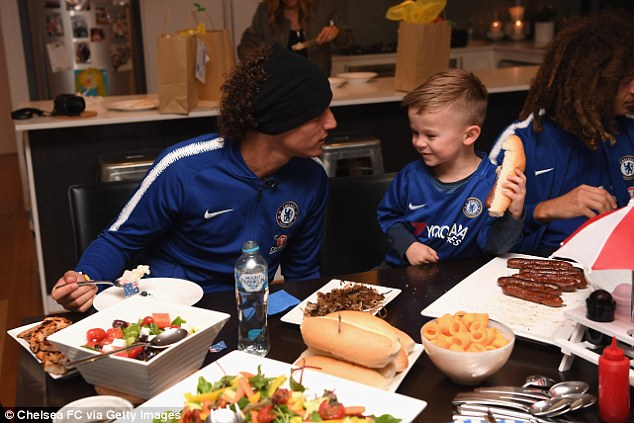 Hudson will be present for Chelsea's match on Monday, when they face Perth Glory