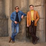 Hollywood's hottest,Brad Pitt and Leonardo DiCaprio film new movie