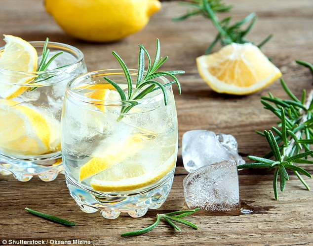 Trendy:Gin-loving Britons have helped drinks giant Diageo boost its sales and profits