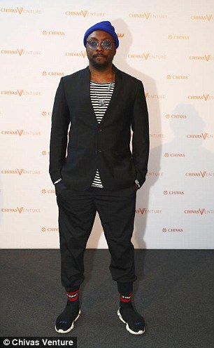 Will.i.am pledged to help establish Change Please in the US next year at the Chivas Venture awards ceremony