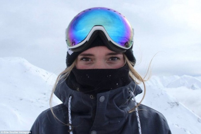 Miss Soutter who lived in France was a well-known junior athlete and competed in off-piste Freeride and Boardercross