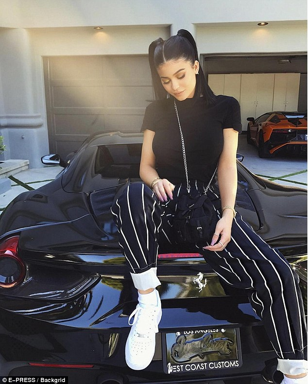 Self-made!Kylie, according to Forbes, is on track to become a billionaire thanks to her makeup line Kylie Cosmetics, which is estimated to be worth over $900 million