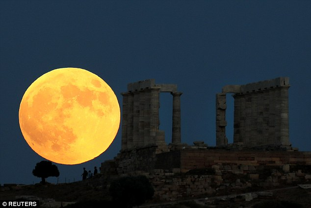 Tonight's lunar eclipse has turned the moon a glowing orange in Israel. Eclipse's can only occur on the night of a full moon which may disrupt your sleep and, in turn, your mood and appetite