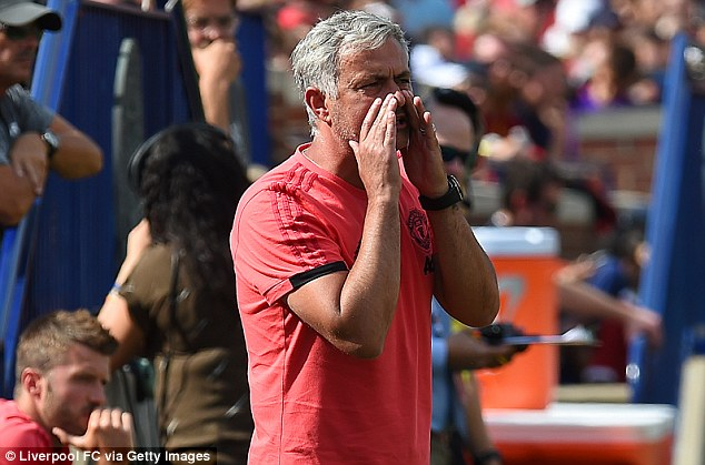 Jose Mourinho offered a damning verdict of Manchester United's miserable US tour