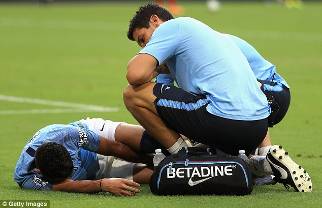 City are now unsure whether Mahrez will be fit to play in next month's Community Shield