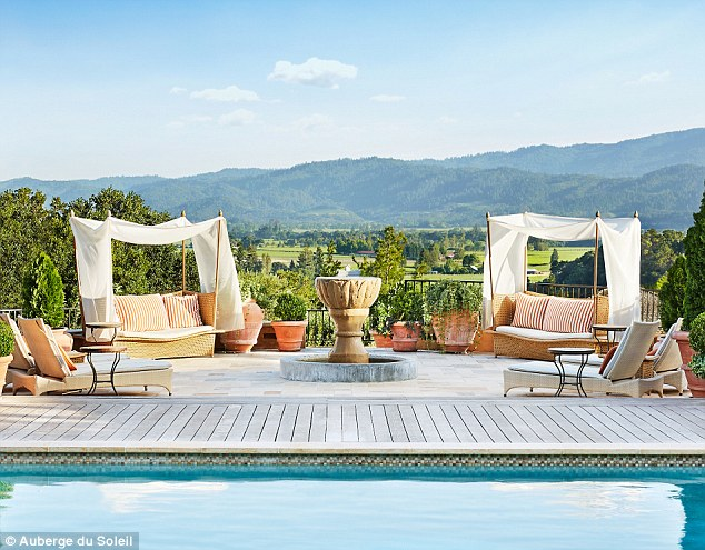 A little piece of Provence: The hotel has luxurious European style services
