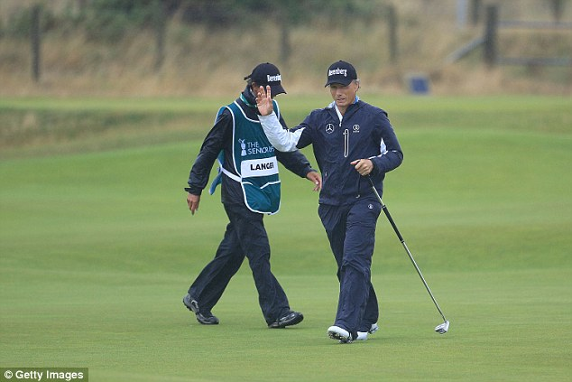 Langer ensured he left St Andrews having put up a fight as defending Senior Open champion