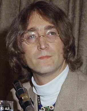 'The Word,' from the same album as 'In My Life', has always beenattributed to Lennon (pictured), but the researchers have found it is almost certainly by a Sir Paul classic