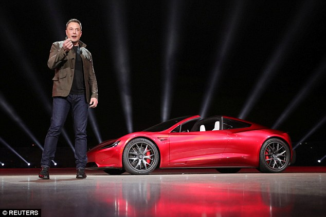 Telsa makes affordable, battery-operated cars that Elon Musk, its CEO, says will help reduce global warming